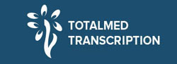 Totalmed Transcription Canada Logo